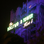 The Tower of Terror at Night – 10 Days Til Disney!