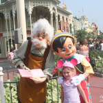 Geppetto, Sophie, & Pinocchio — 28 Days Til Disney!