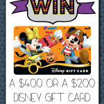 Why I love Disney Giveaways!
