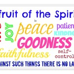 Prayers for the Week – Fruits of the Spirit
