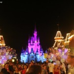 Riding the Rails: Disney Parks at Night