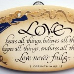 Prayers for the Week – Love Never Fails