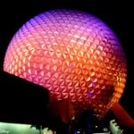 Blogorail Orange: Spaceship Earth Architectural Details