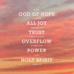 Prayers for the Week: All about Hope